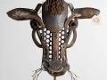 Cow Head Barnyard Portrait Metal Art