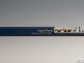 pencil carving of a giraffe family - all