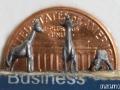 pencil carving of a giraffe family - close up