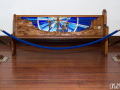 hand carved church pew for sale