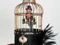 Birdcage Hat by Cindy Chinn