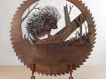 Porcupine-Blade  Metal art