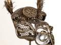 Camel Head Metal Art by Cindy Chinn