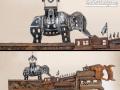 Elephantine Colussus Custom Saw Metal Art by Cindy Chinn