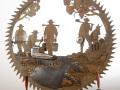 Gold Rush Blade  Metal Art by Cindy Chinn