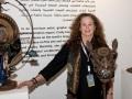 Cindy Chinn in Doha Qatar - Scrap Art Show