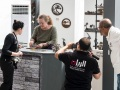 Cindy Chinn filmed at Doha Scrap Art Show