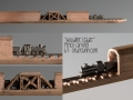 Train Pencil Carving by Cindy Chinn - Woodline Leader
