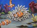 Underwater Mural Aquarium 4' 08 - Detail