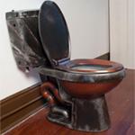 Monster Garage meets Jules Vernes, Steampunk Toilet