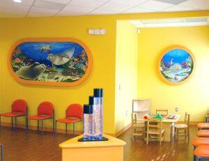 underwater murals by Cindy Chinn