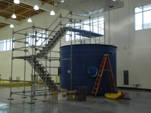 The dive tank