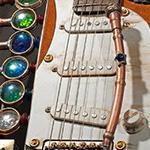 Custom Time Machine Guitar