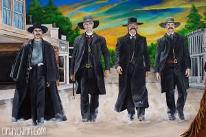 Tombstone Gunfighter Mural