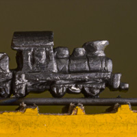 Buy a carved pencil - Train - Cindy Chinn