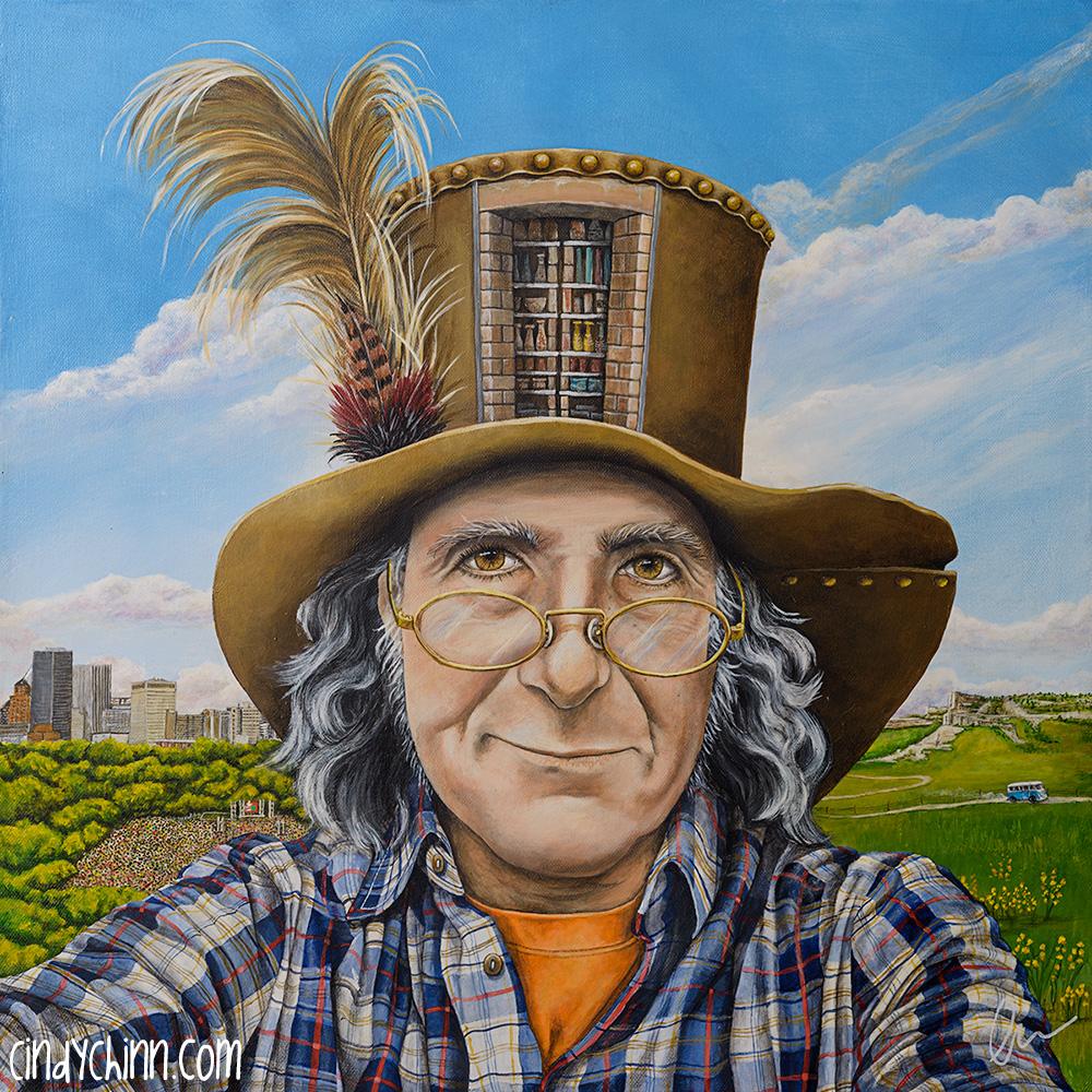 Bill Robbins Painted Portrait