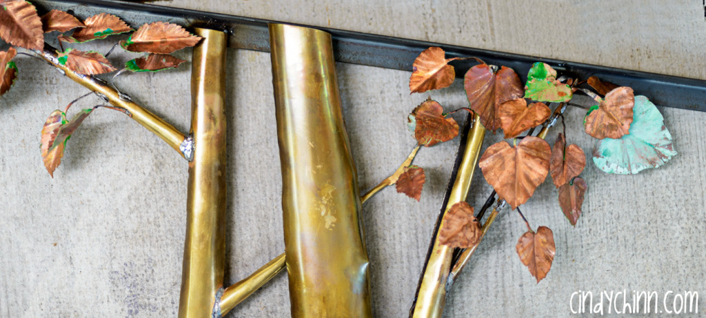 brass and copper tree 00