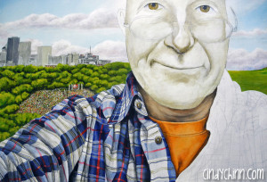 commissioned portrait by Cindy Chinn