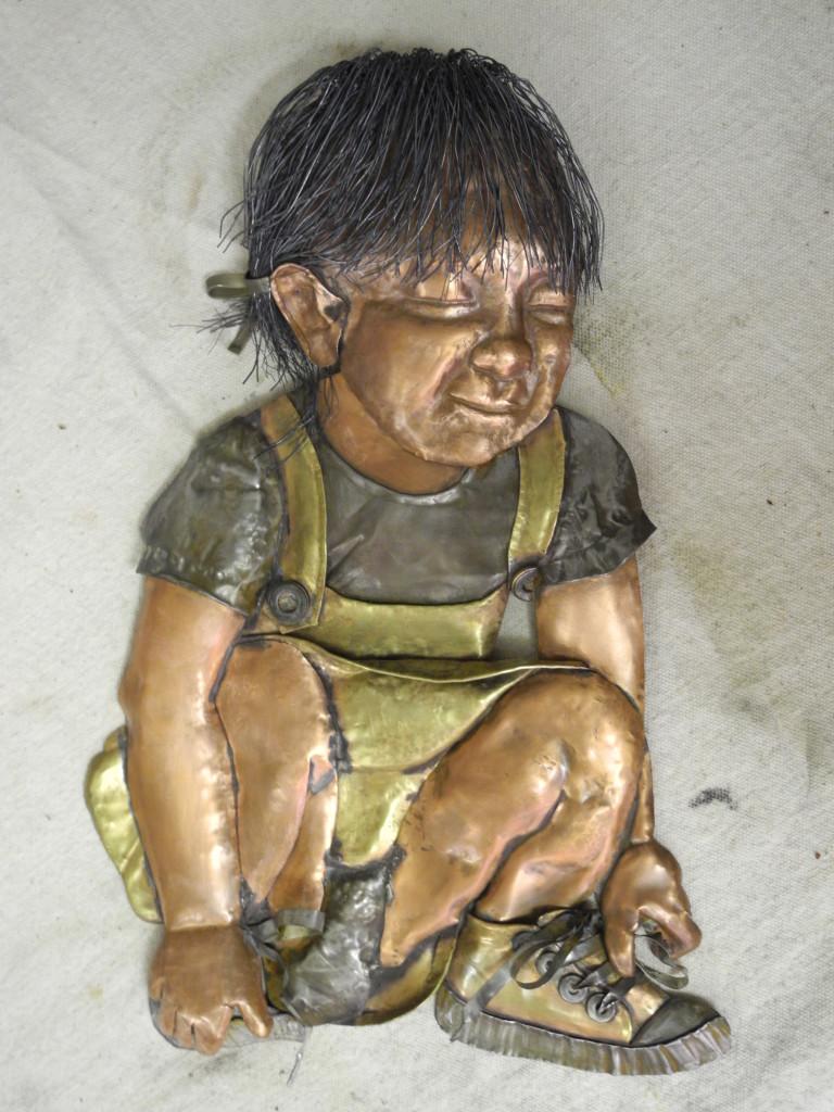 copper-metal-girl-sculpture