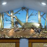Brass and Copper Metal Wall Art - Sculpture