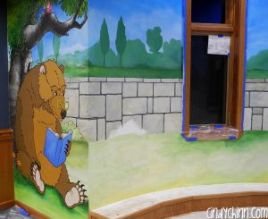 Public Library Mural for Kids Reading area