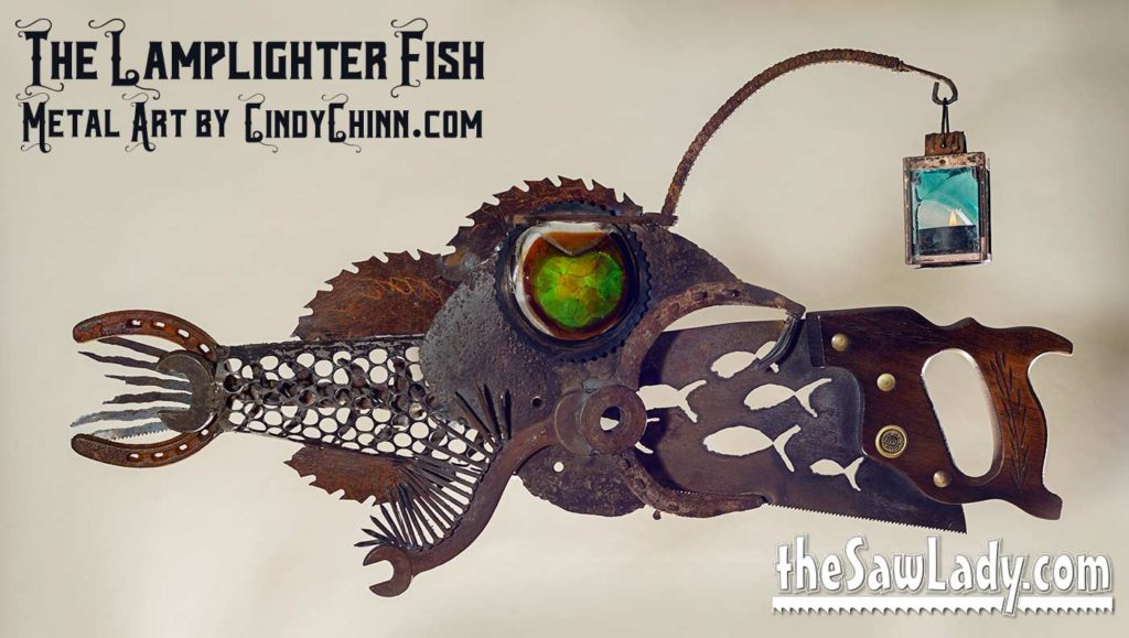 Lamplighter Fish Saw by Cindy Chinn