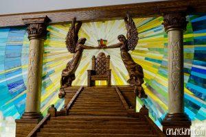Throne of Grace Church Pew