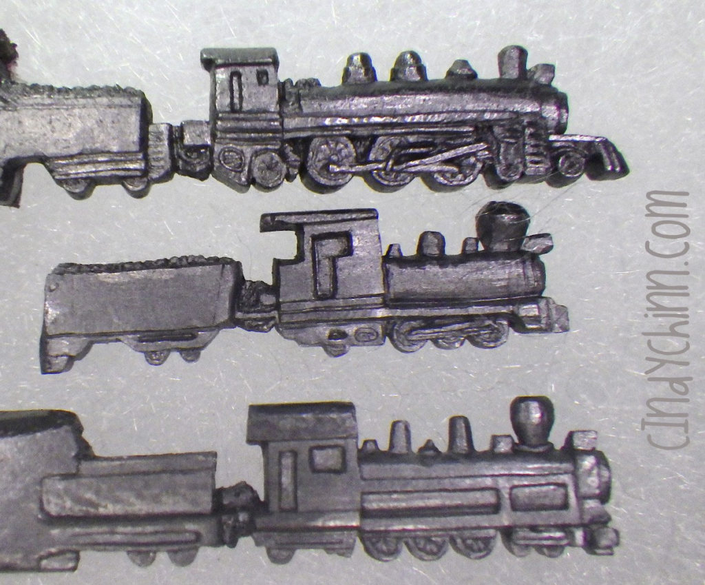 Train pencil carvings by cindy chinn progress 04