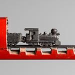 Train Pencil Carving
