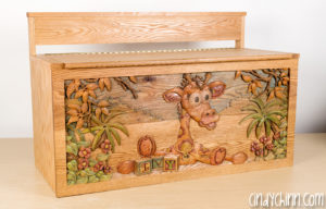 Wooden Toy Box - Final