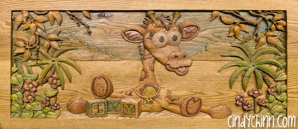 Wooden toy Box - Josie - 9