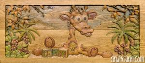 Wooden toy Box - Josie - 9