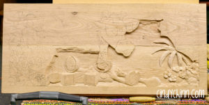 wood toy box carving 02