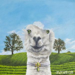 Alpaca painting progress -04