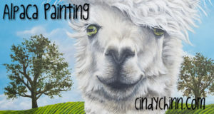 og alpaca painting