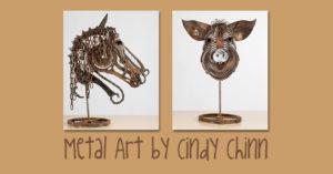metal art by Cindy Chinn