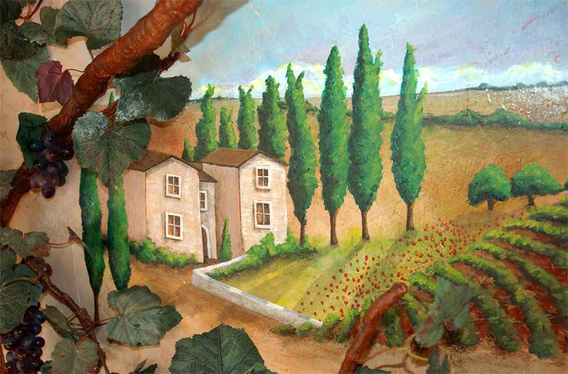 Tuscan Mural