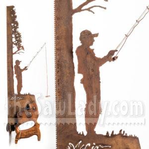 cindy chinn-saw-art fishing